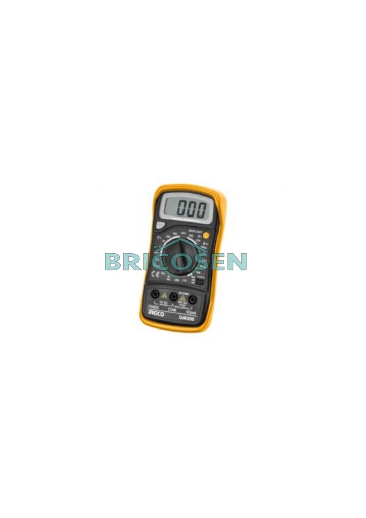 multimetre digital lcd 20v ingco dm200 bricosen quincailleire senegal
