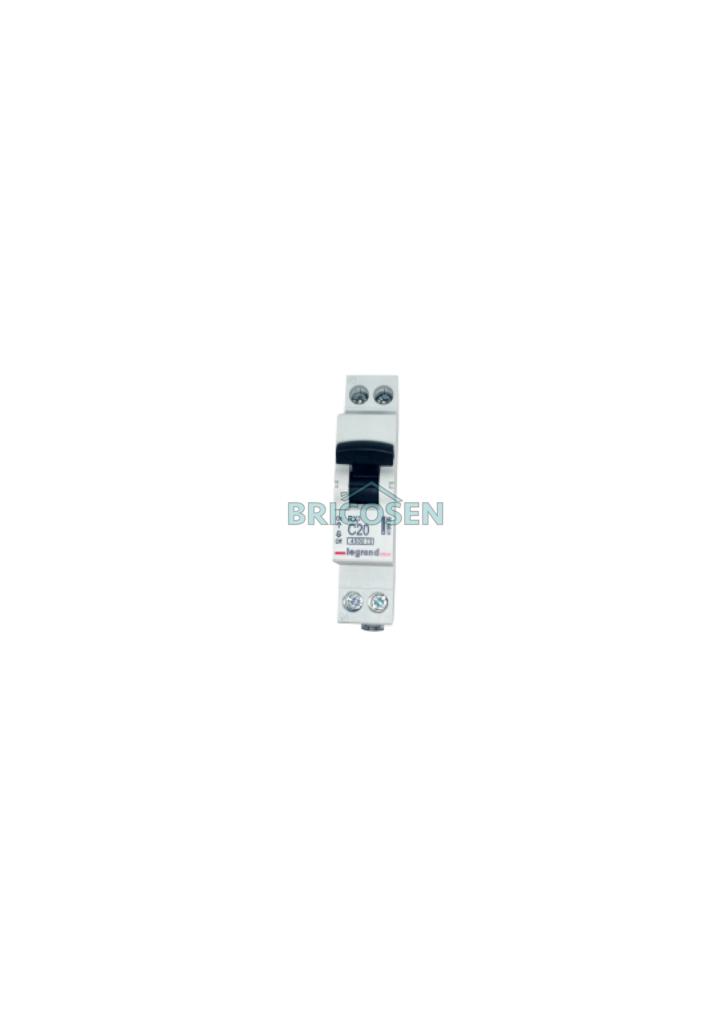 disjoncteur legrand phase neutre rx3 230v 20a bricosen quincaillerie senegal